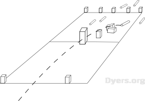 picture relating to Kubb Rules Printable named My Favourite Back garden Match: How Towards Participate in Kubb Jon Dyer