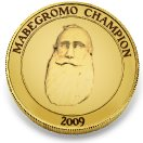 Mabegromo Champion coin
