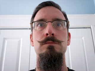 Handlebar and Goatee (circa 2009)