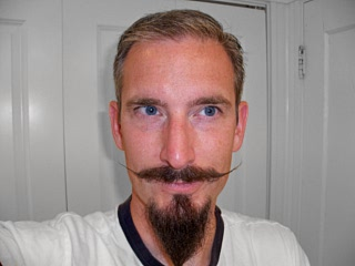 English Mustache with Goatee(2012)